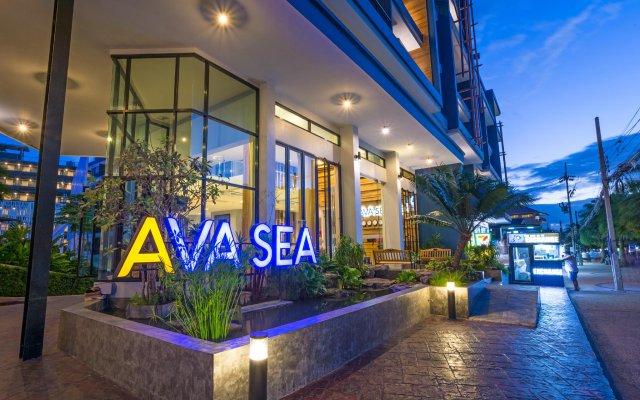 Отель AVA Sea Resort вид на фасад