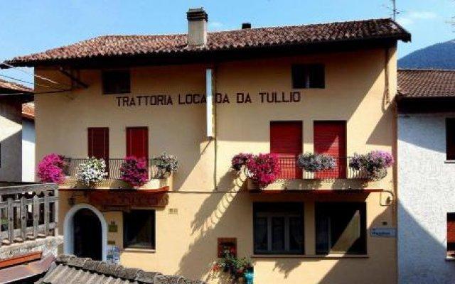 Отель Locanda Da Tullio Коллио вид на фасад