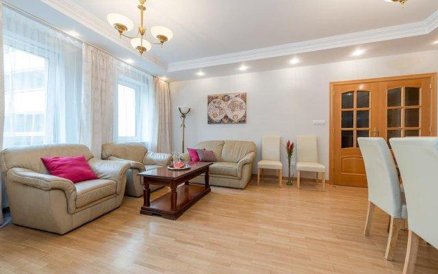 Апартаменты P&O Apartments Tamka комната для гостей