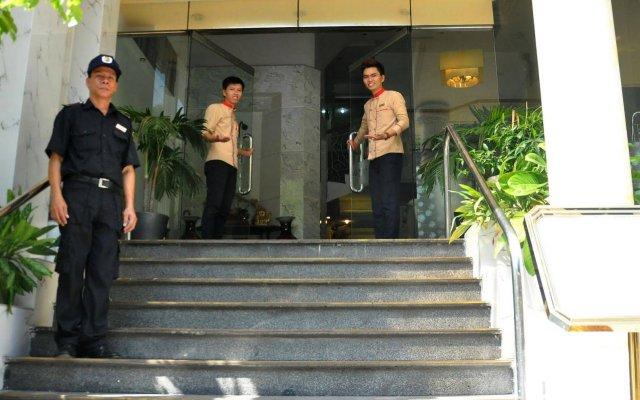 Отель A25 Hai Ba Trung Хошимин вид на фасад