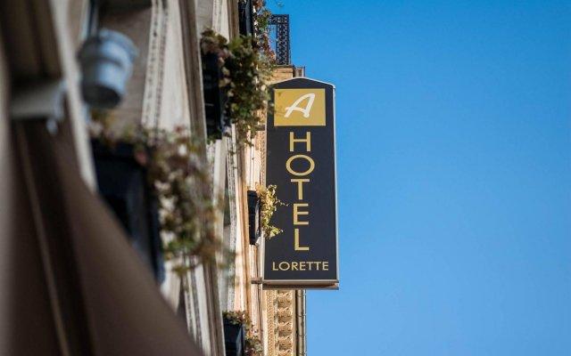Отель Lorette - Astotel Франция, Париж - 10 отзывов об отеле, цены и фото номеров - забронировать отель Lorette - Astotel онлайн вид на фасад