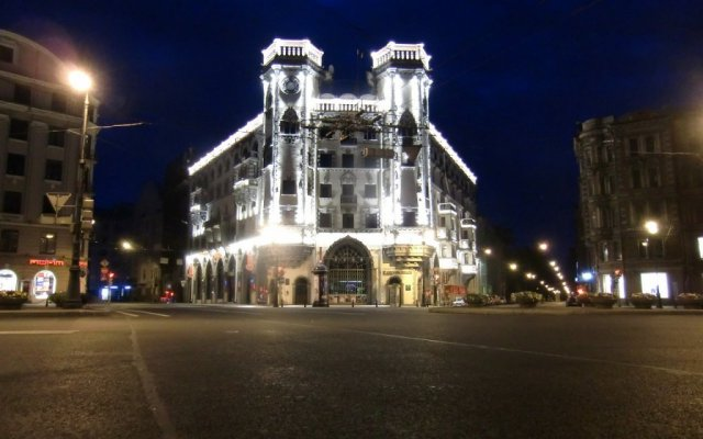 Хостел Толстой вид на фасад