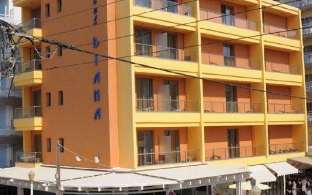 Diana Boutique Hotel вид на фасад