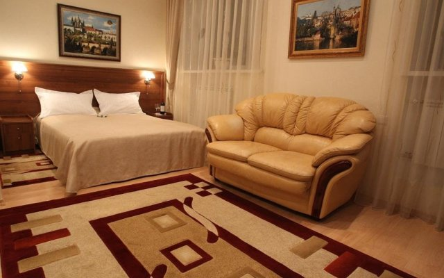 Гостиница Злата Прага комната для гостей