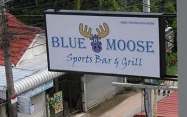 Апартаменты Blue Moose Apartments Паттайя вид на фасад