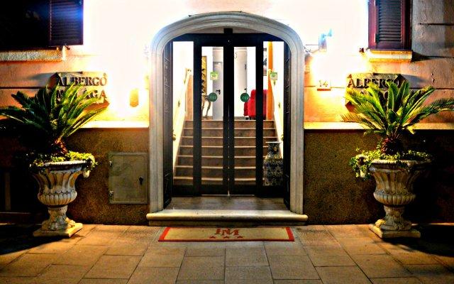 Hotel Malaga вид на фасад