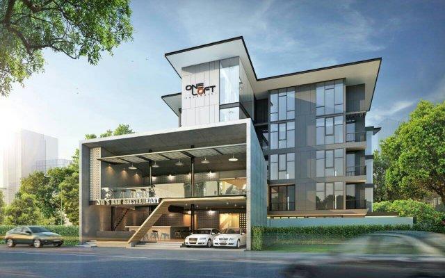 OneLoft Hotel вид на фасад
