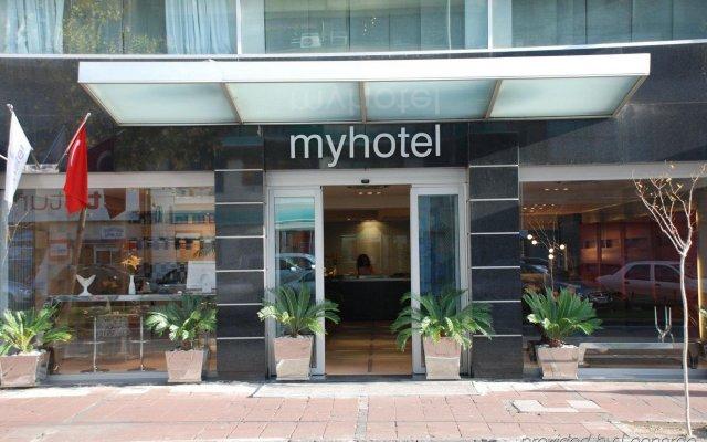 MY Hotel Турция, Измир - отзывы, цены и фото номеров - забронировать отель MY Hotel онлайн вид на фасад