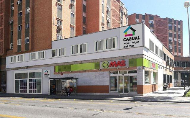 Отель Casual del Mar Málaga вид на фасад