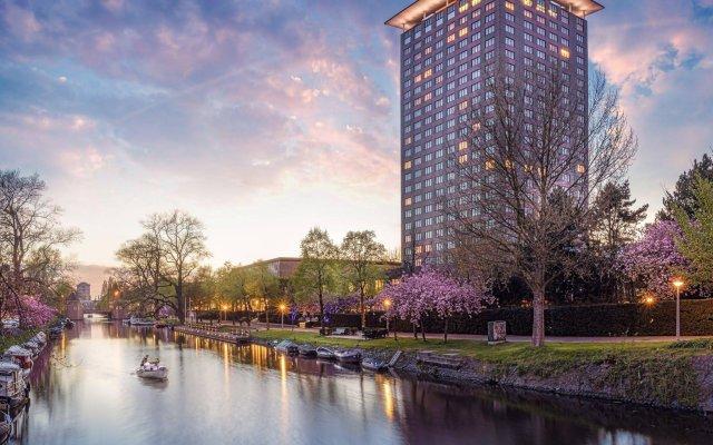Hotel Okura Amsterdam Амстердам приотельная территория