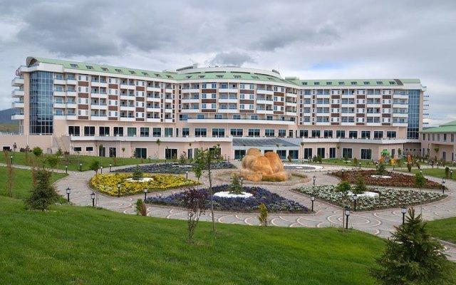 Отель Safran Thermal Resort Афьон-Карахисар вид на фасад
