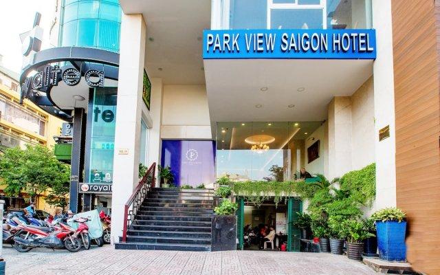 Park View Saigon Hotel вид на фасад