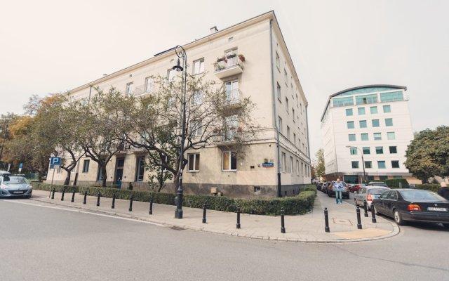 Апартаменты Heart of Warsaw III apartment вид на фасад