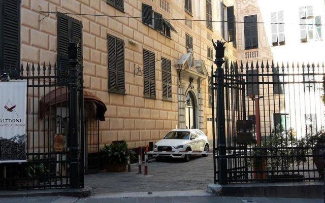 Отель Le Fontane Marose Генуя вид на фасад