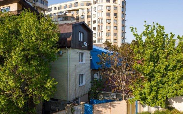 Гостевой дом Домашний Уют вид на фасад