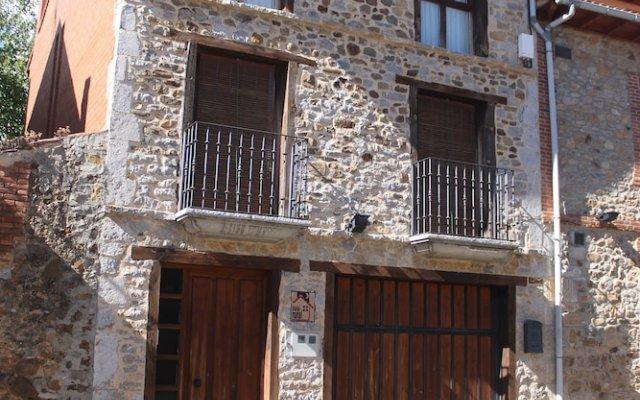 Отель Casa Rural La Oca вид на фасад