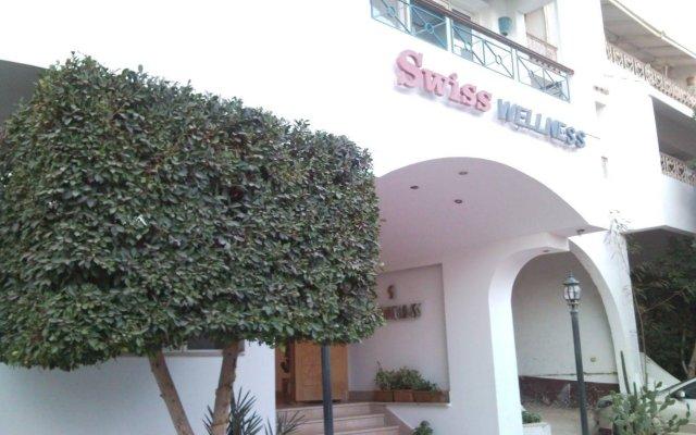 Отель Swiss Wellness Spa Resort вид на фасад