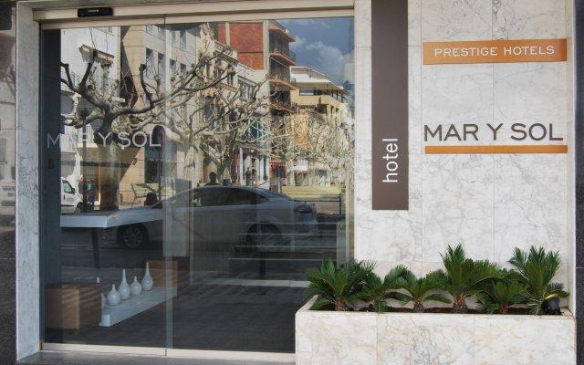 Отель Prestige Mar Y Sol Курорт Росес вид на фасад