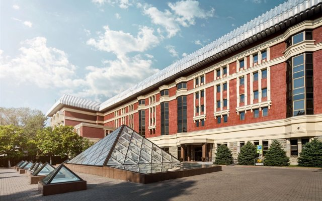 Достык Отель вид на фасад