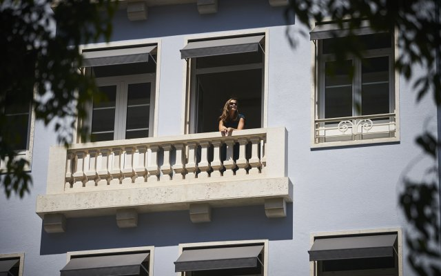 Отель PortoBay Marques Лиссабон вид на фасад