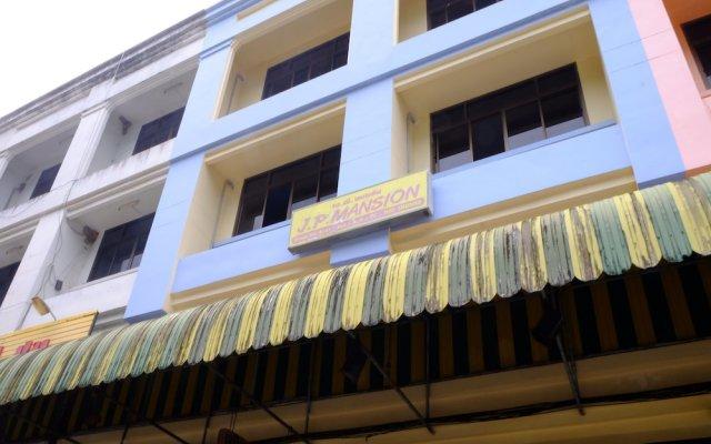 Отель JP Mansion вид на фасад