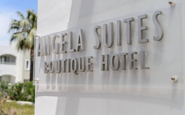 Angela Suites Boutique Hotel вид на фасад
