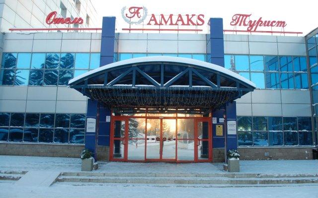 Гостиница Амакс Турист вид на фасад