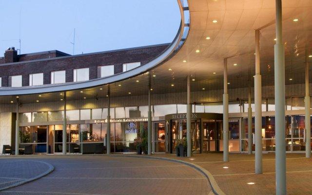 Отель Hilton Kalastajatorppa Хельсинки вид на фасад