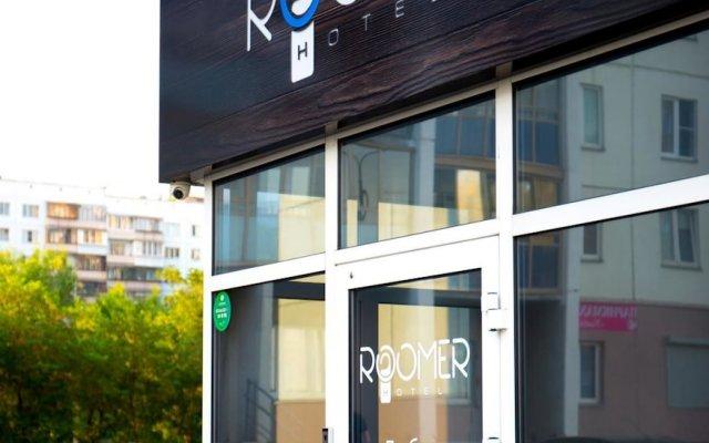 Отель Roomer Челябинск вид на фасад