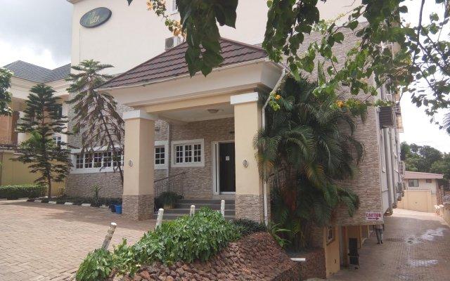 Отель Allen Suites Энугу вид на фасад