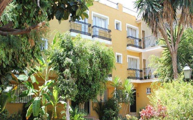 Отель Villa Albero вид на фасад