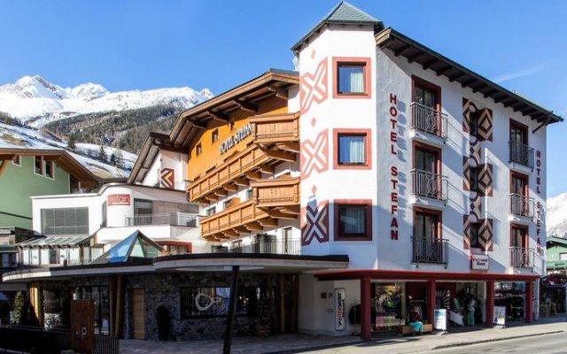Отель Stefan Австрия, Хохгургль - отзывы, цены и фото номеров - забронировать отель Stefan онлайн вид на фасад