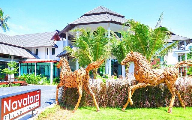 Отель Navatara Phuket Resort вид на фасад