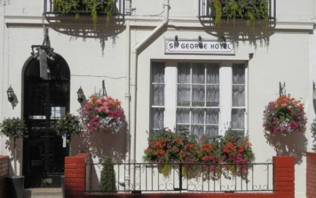 St George Hotel Лондон вид на фасад