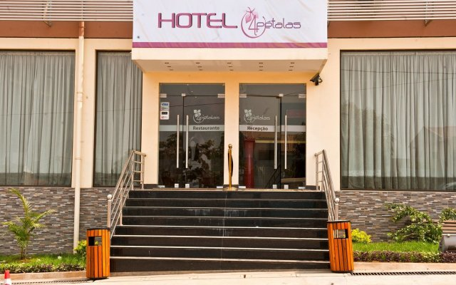 Hotel Quatro Pétalas вид на фасад