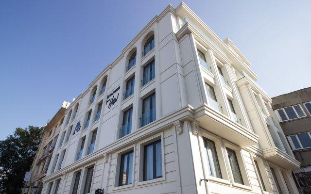 Istanbul Town Hotel вид на фасад