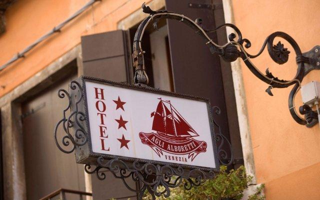 Отель Agli Alboretti Италия, Венеция - отзывы, цены и фото номеров - забронировать отель Agli Alboretti онлайн вид на фасад