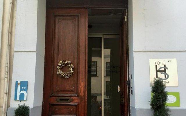 Отель Sabina Бельгия, Брюссель - 3 отзыва об отеле, цены и фото номеров - забронировать отель Sabina онлайн вид на фасад