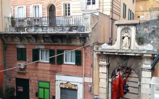 Hotel Bernheof Генуя вид на фасад