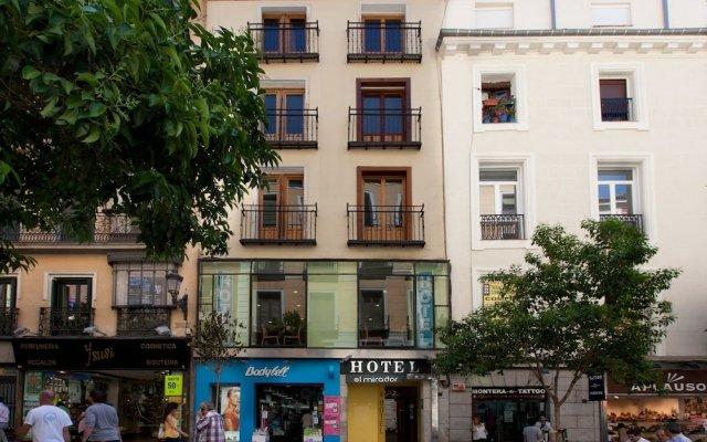 Hotel Mirador Puerta del Sol вид на фасад
