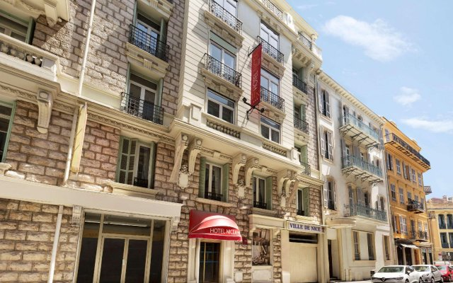 Отель Days Inn Nice Centre Франция, Ницца - 5 отзывов об отеле, цены и фото номеров - забронировать отель Days Inn Nice Centre онлайн вид на фасад