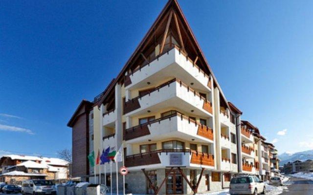 Отель Mountview Lodge Hotel Болгария, Банско - отзывы, цены и фото номеров - забронировать отель Mountview Lodge Hotel онлайн вид на фасад