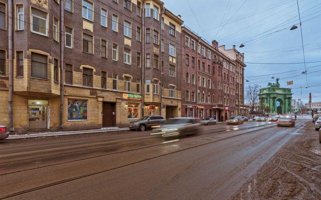 Апарт-Отель Нарвские Ворота вид на фасад