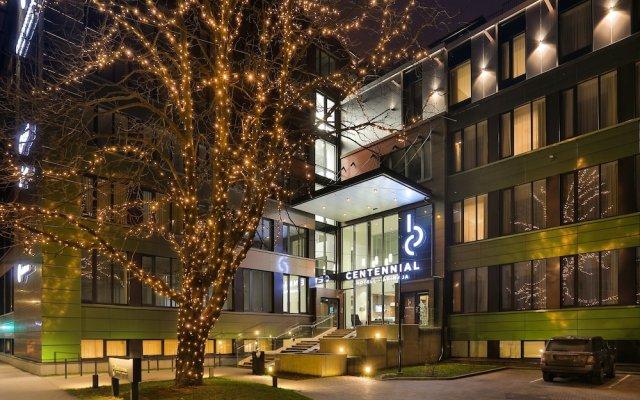 Centennial Hotel Tallinn вид на фасад