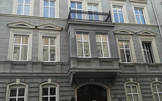 Отель Apartament Stockholm Познань вид на фасад