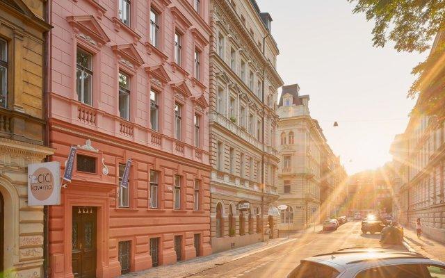 Отель Remember Residence Прага вид на фасад