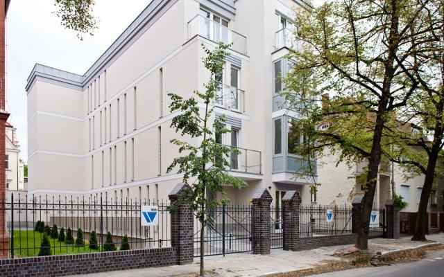 Отель E-Apartamenty MTP Польша, Познань - отзывы, цены и фото номеров - забронировать отель E-Apartamenty MTP онлайн вид на фасад
