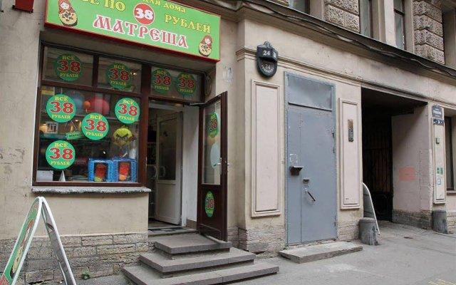 Welcome Hostel Санкт-Петербург вид на фасад