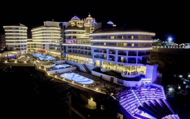 Отель Laguna Beach Alya Resort & SPA - All Inclusive Окурджалар вид на фасад