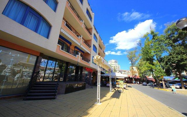 Апартаменты Menada Villa Bonita Apartments Солнечный берег вид на фасад